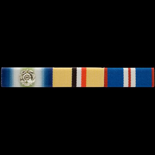 Military 4 Service Ribbon Bar Holding Attachment Straight Mount U.S