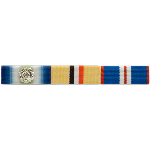 Ribbon Bar with Emblem Example