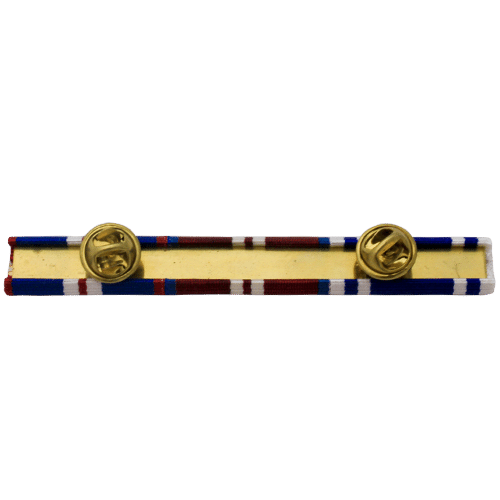 medal ribbon bar clutch pin