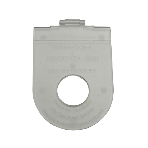 pocket medal holder miniature flat