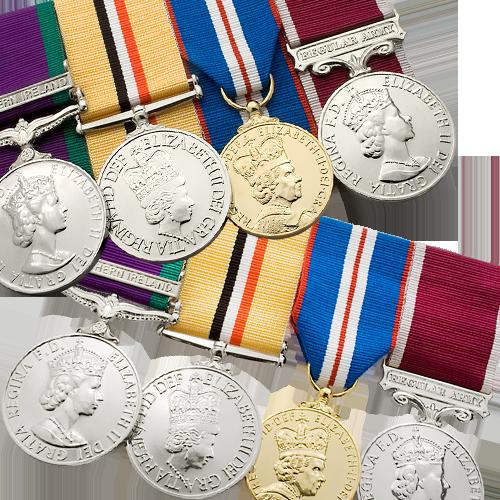 medal-mounting