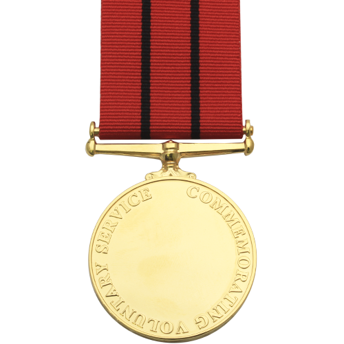 Magistrates Service Medal Commemorative Reverse