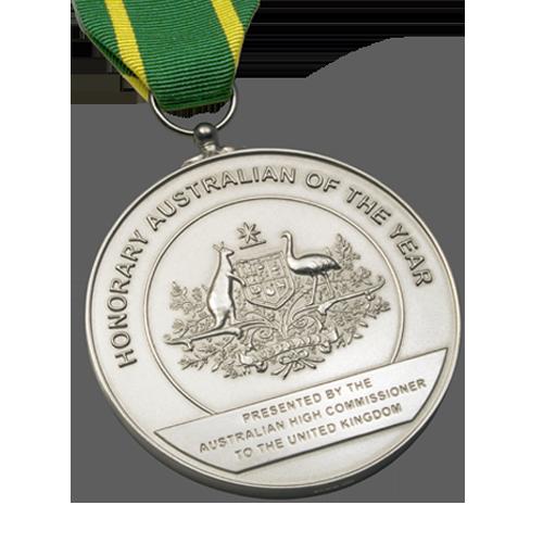 Australia Day Foundation Award Medal