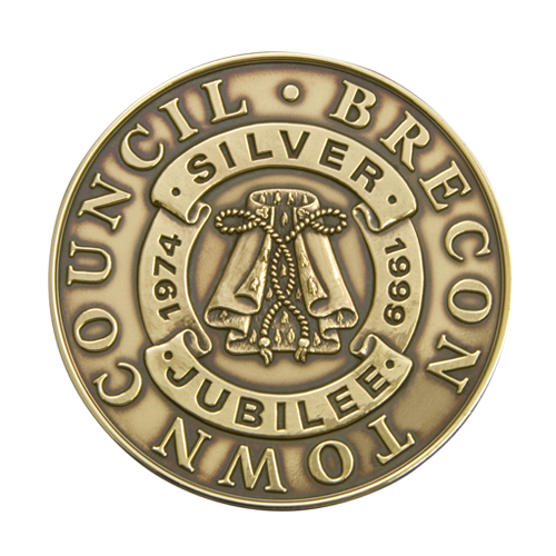 Brecon Council Silver Jubilee Medal