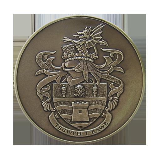 Conwy Council Citizenship Medal