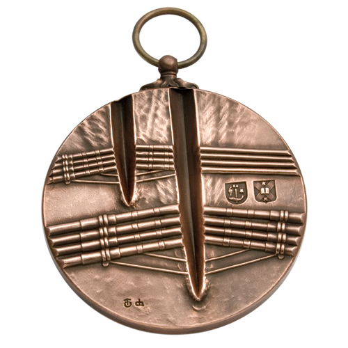 Edinburgh & Glasgow University Boat Race Medal