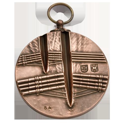 Medalla de la carrera de barcos de la Universidad de Edimburgo & Glasgow