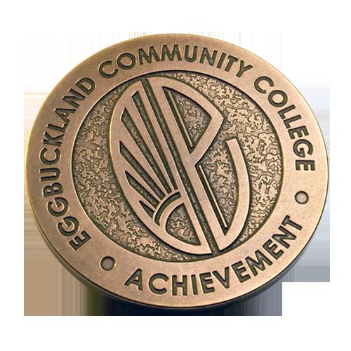 Eggbuckland Community College Medal