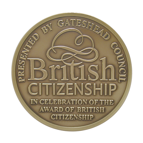 Gateshead Council Citizenship Medal