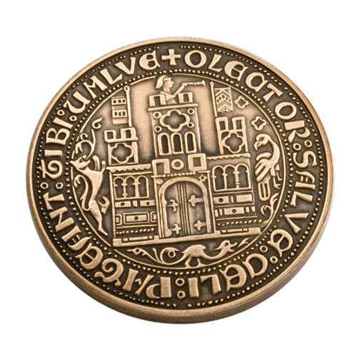 Haverfordwest Town Council Millennium Medal Reverse