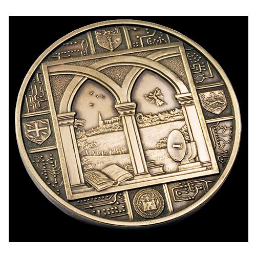 Malmesbury Avril Vaughan Medal Reverse