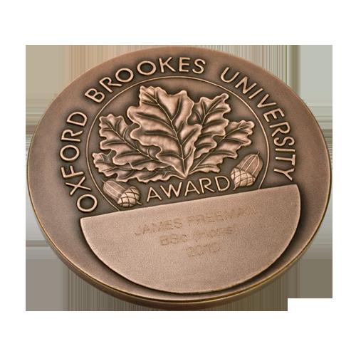 Oxford Brookes University Medal Reverse