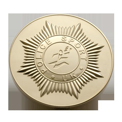 Police Sport UK Medal