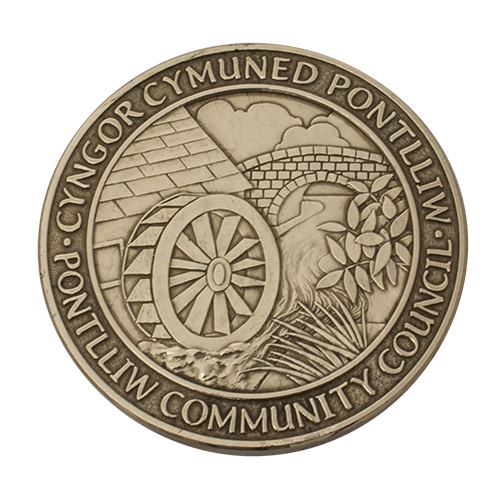 Pontlliw Community Council Millennium Medal