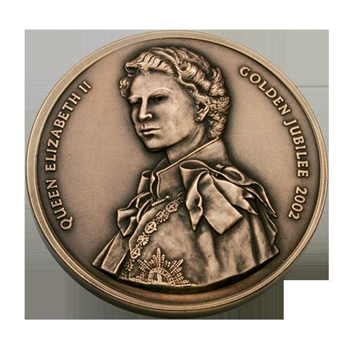 Red Cross Golden Jubilee Medal