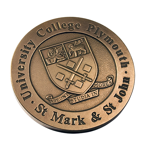 St Mark And St John University College Plymouth Medal