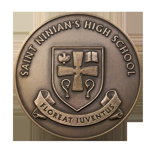 St Ninians High School Medal