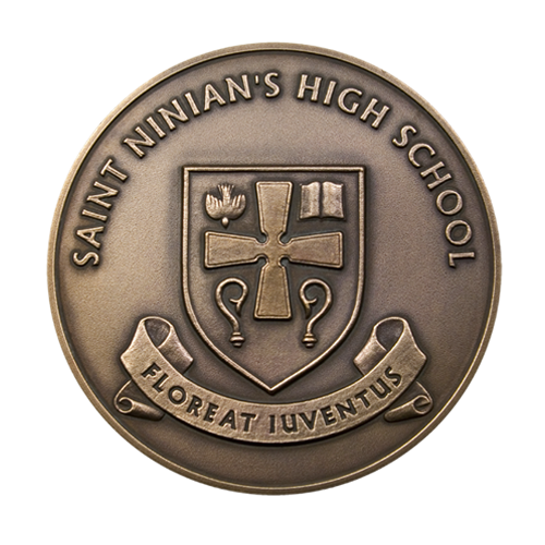 St Ninians High School Medal