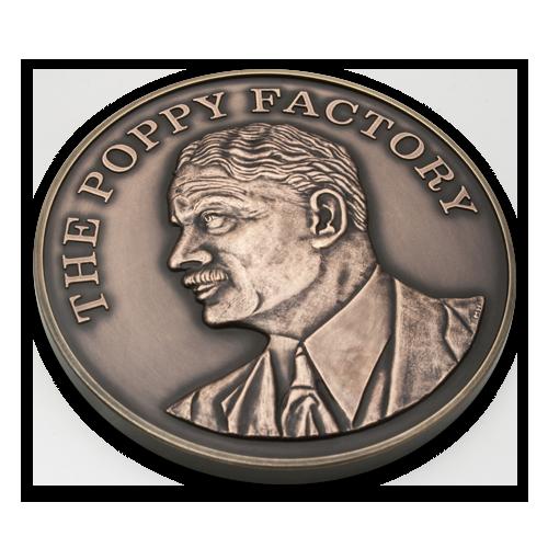The Poppy Factory Medal