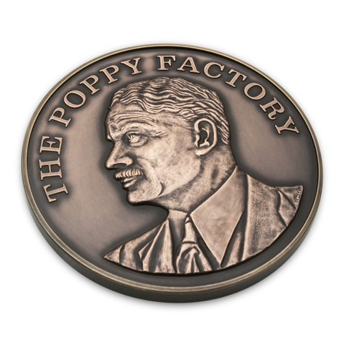 The Poppy Factory Medal