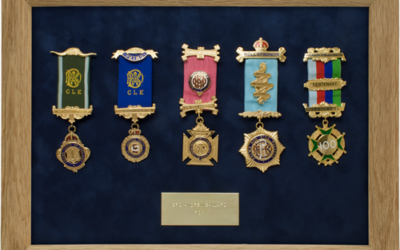 Military Medal Display Frame Case Study-Ballard