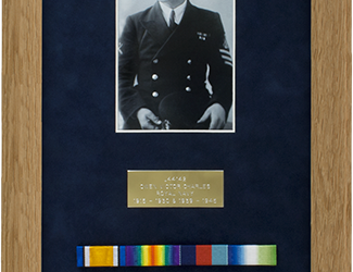 Military Medal Display Frame Case Study-Tuckwell Part 2