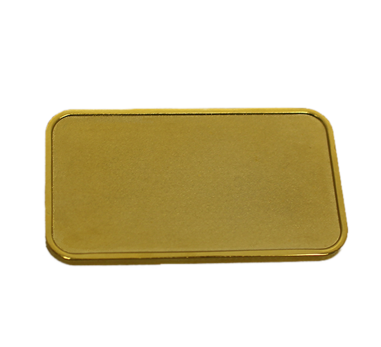 Gold-plated Ingot