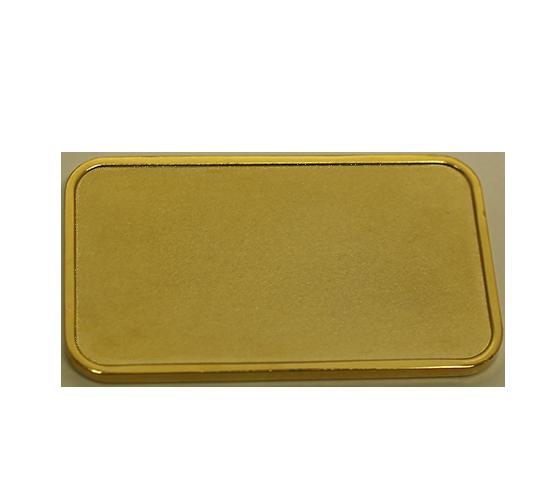 Gold-plated Ingot