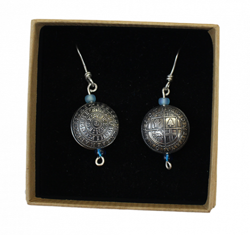 Modbury Earrings in box