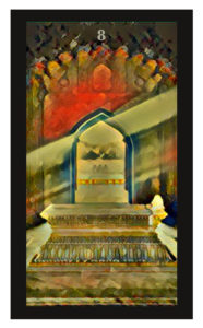 Lenormand Coffin Card
