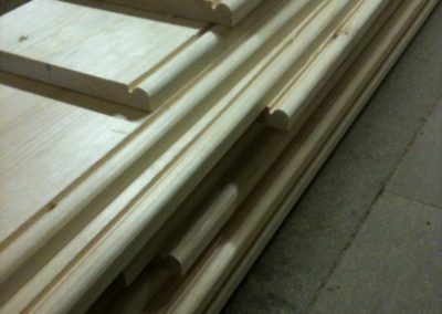 Skirting made to match existing,Made in pine.  SA Spooner