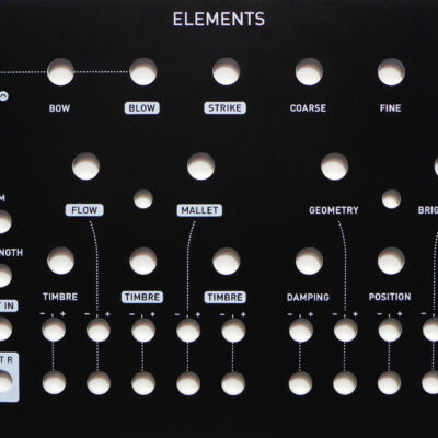 Elements (Matte Black Aluminium Panel)