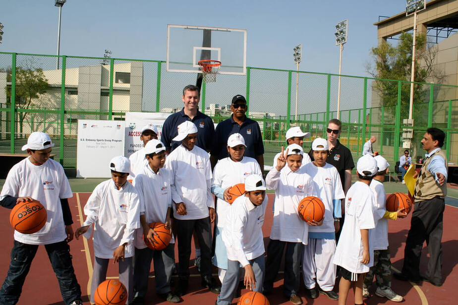 NBA in the U.S Embassy New Delhi
