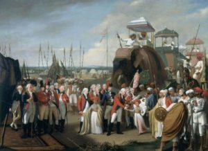 Post the 1792 Siege of Seringapatam