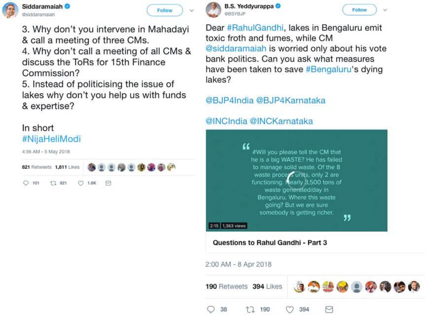 Bangalore Lakes CM tweet war The Bastion