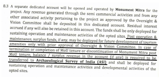 The MoU reinforces government and ASI control. The Bastion