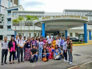 Delhi School teachers Singapore