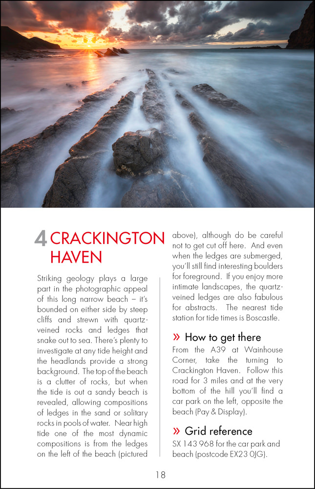 The Photographers Guide to Cornwall - sample page 4