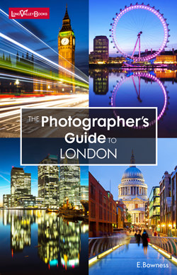 The Photographers Guide to London - a photography location guide book