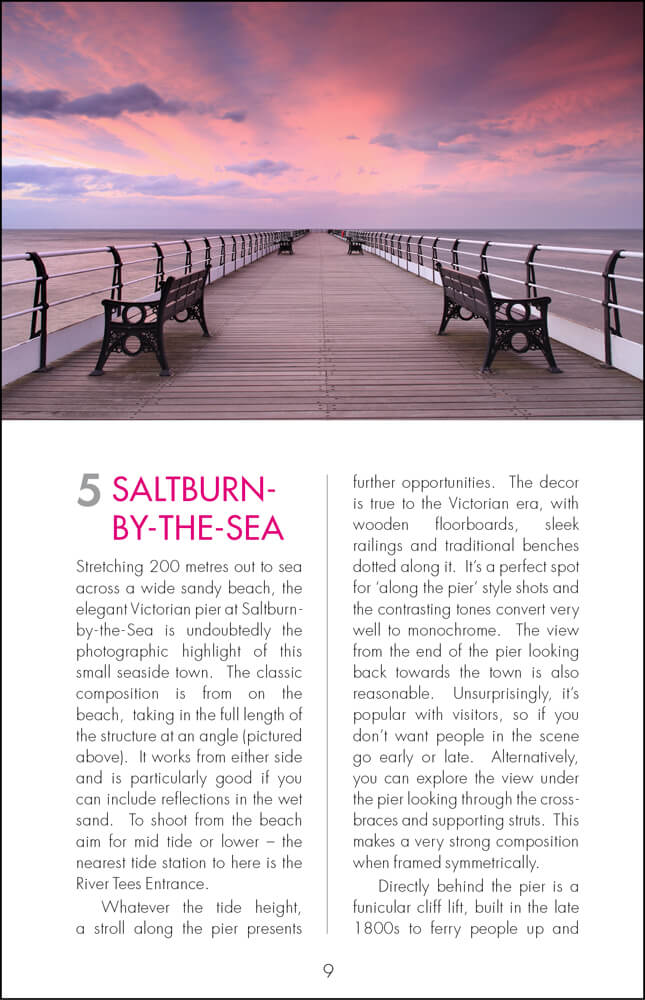 The Photographer's Guide to The North Yorkshire Coast - Sample Page 2