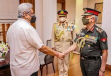 Army chief M.M. Naravane meets Sri Lanka president Rajapaksa