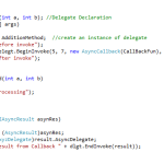 Call a CallBack method when asynchronously Call completes in Asp.net Part IV