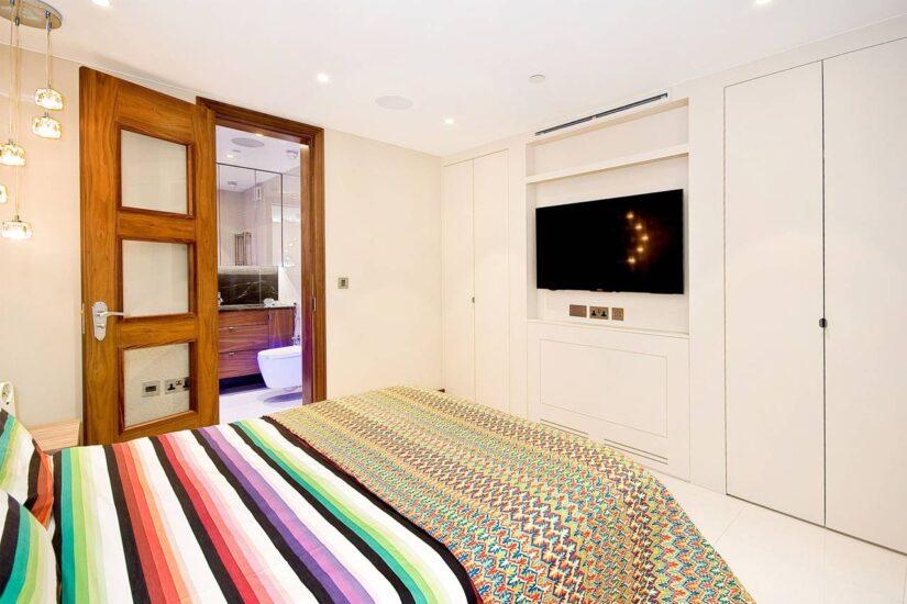 Rutland Gate – bedroom 1