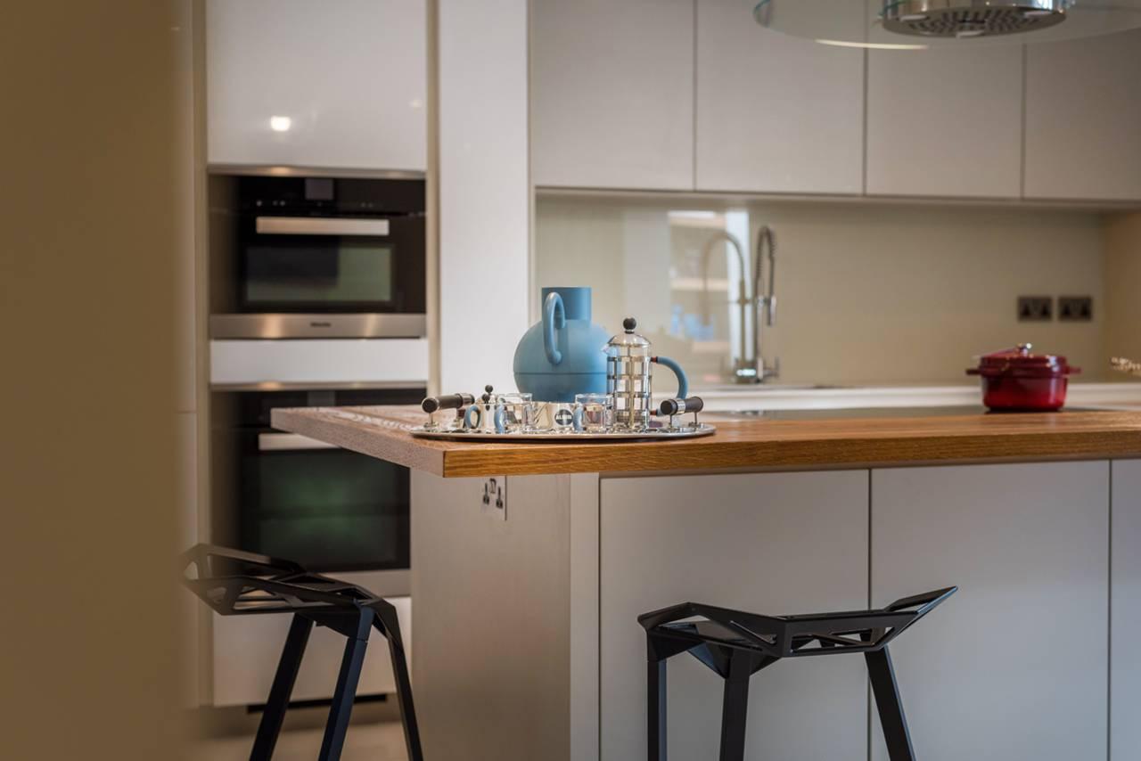 Rutland Gate – kitchen mood