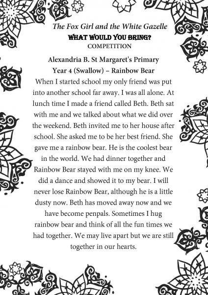 Alexandria B. St Margarets Primary Part 2