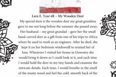 Lara E. Year 6R Newcastle Under Lyme