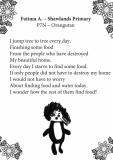 Fatima Ashrap - Shawlands Primary P7N
