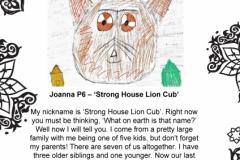 Joanna Begarnie P6 Springfield