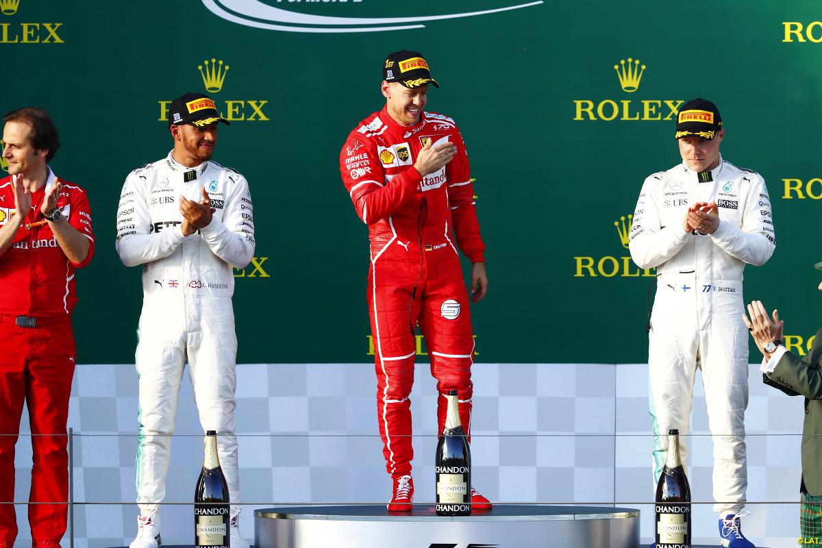 Sebastian Vettel wins the Australian GP