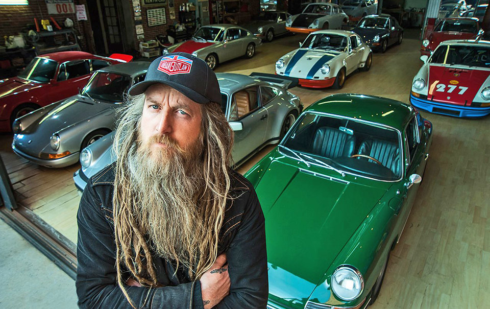 Porsche Meet at The Ace Cafe with Magnus Walker